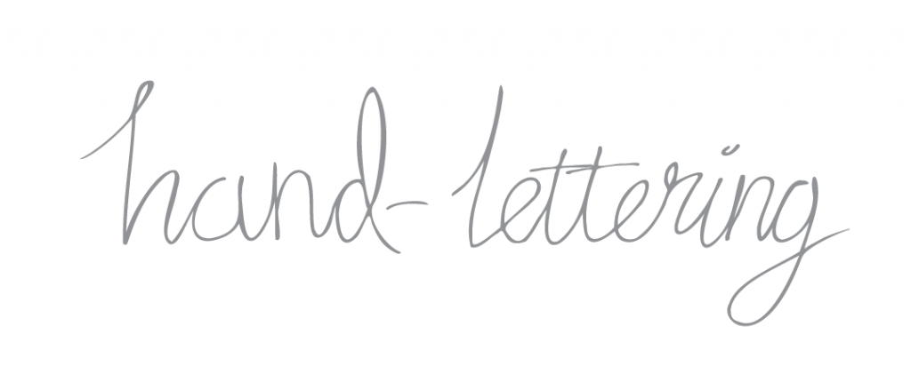 Hand-lettering font example graphic for Kerri Awosile blog