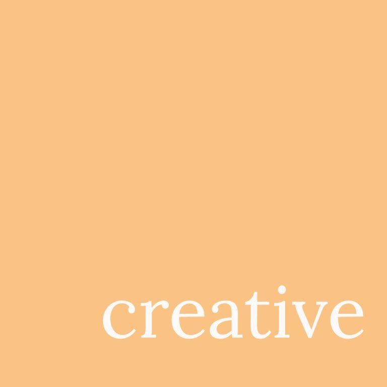 Creative orange square for portfolio by Kerri Awosile artist, writer, designer in the UK