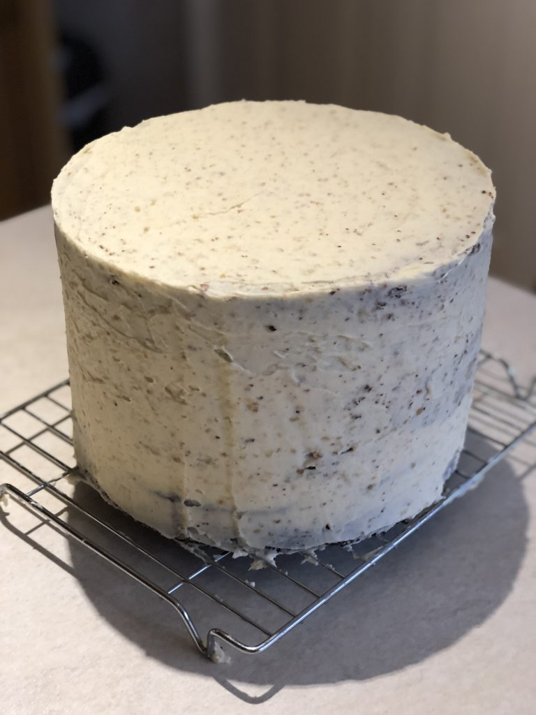 Butter-iced cake - for Creative Project blog by Kerri Awosile, UK