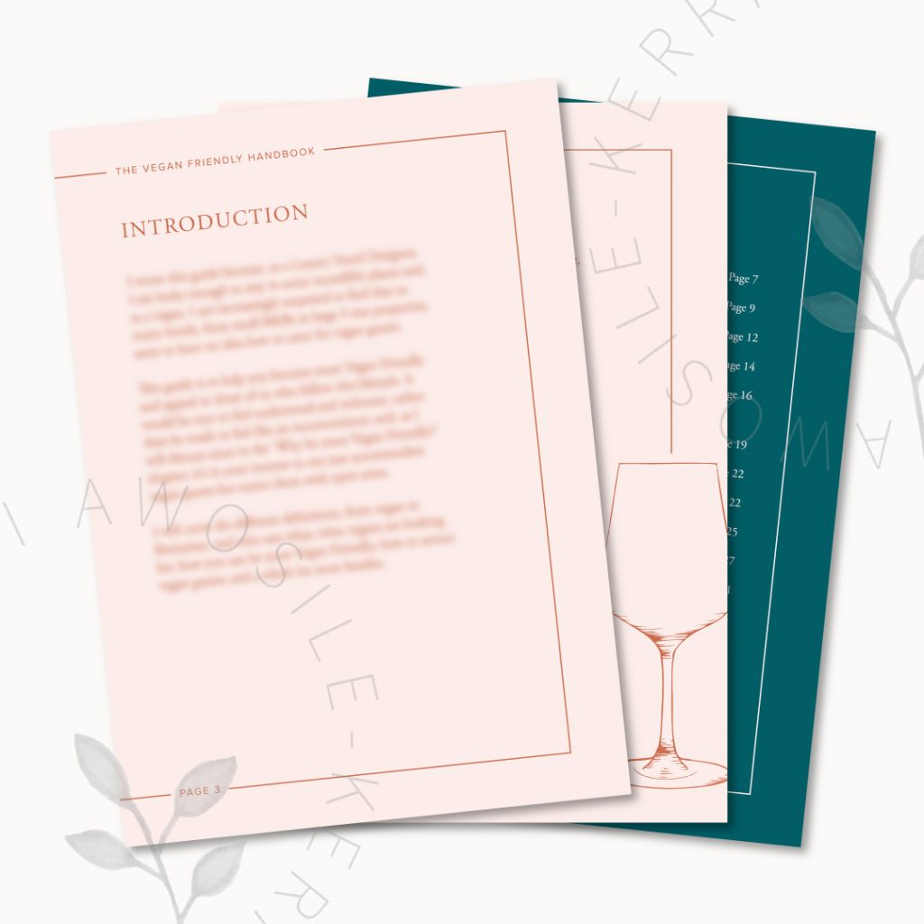 Stylish and on-brand pdf design by Kerri Awosile UK