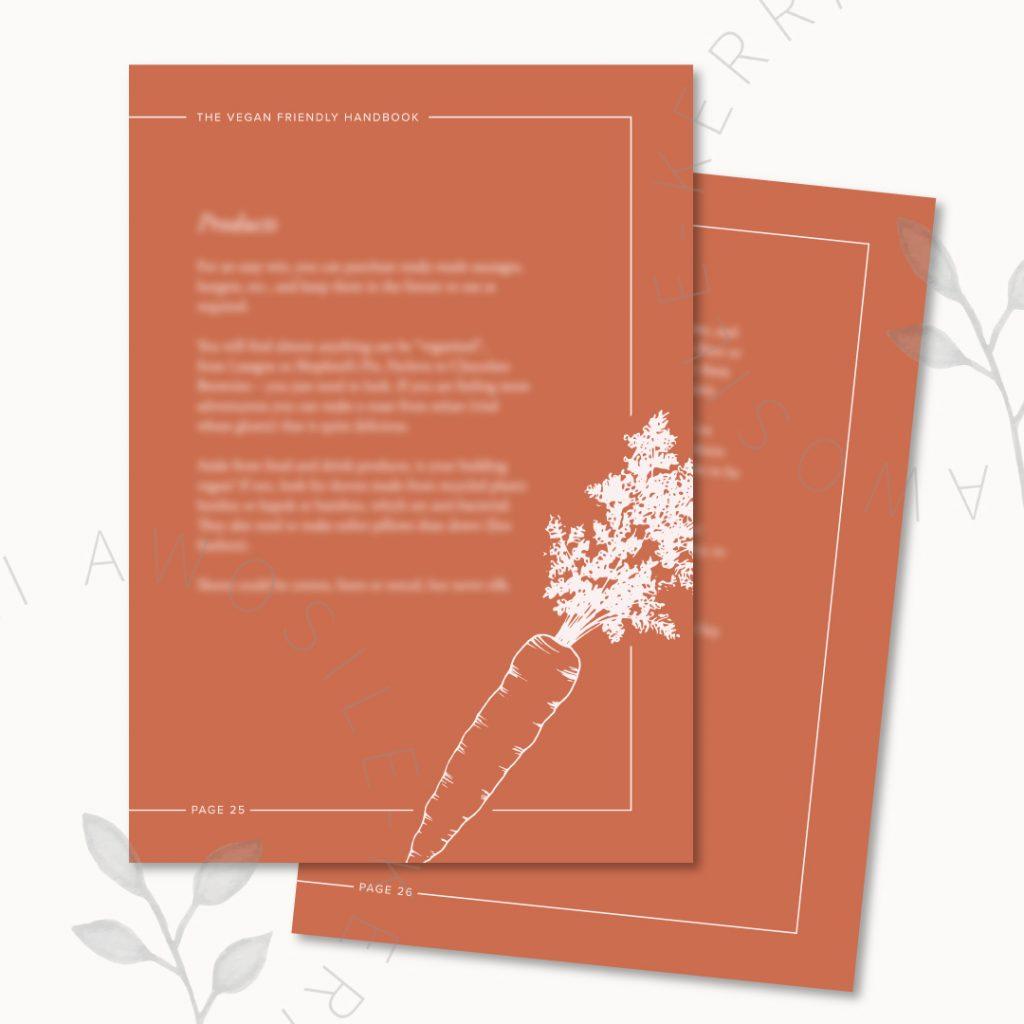 Stylish and on-brand pdf design with bespoke illustrations by Kerri Awosile for Janet Mactavish