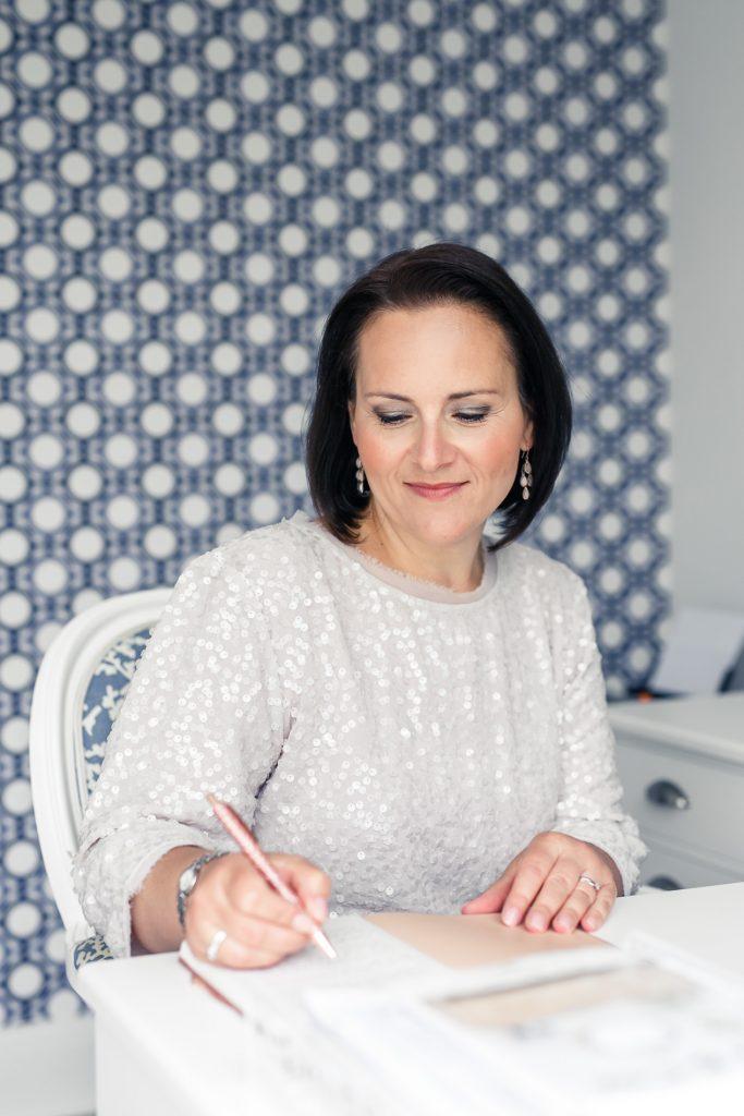 Lidia Rumley, The Brand Storyteller, writing at work