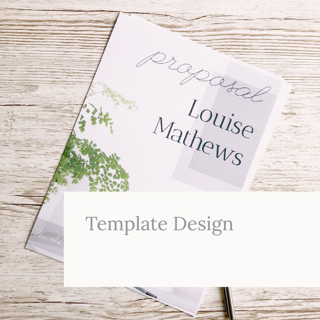 Template Design Example by Kerri Awosile