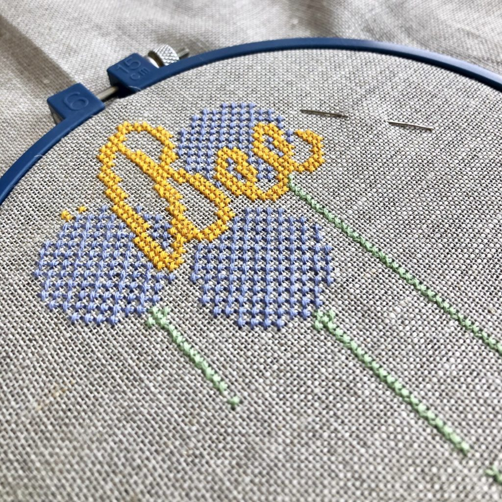 Cross Stitch Kit by The Spinneyfield Stitchery for Kerri Awosile Blog