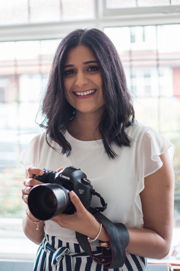 Deepa Rodrigues with her camera