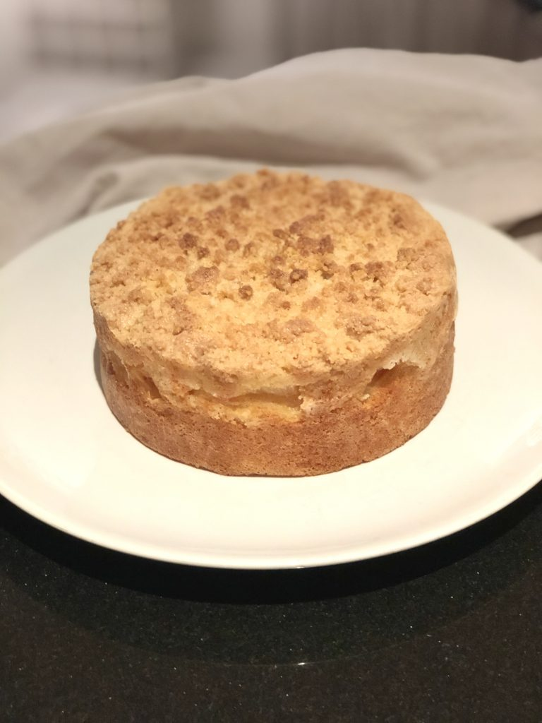 Apple Crumble Cake by Kerri Awosile