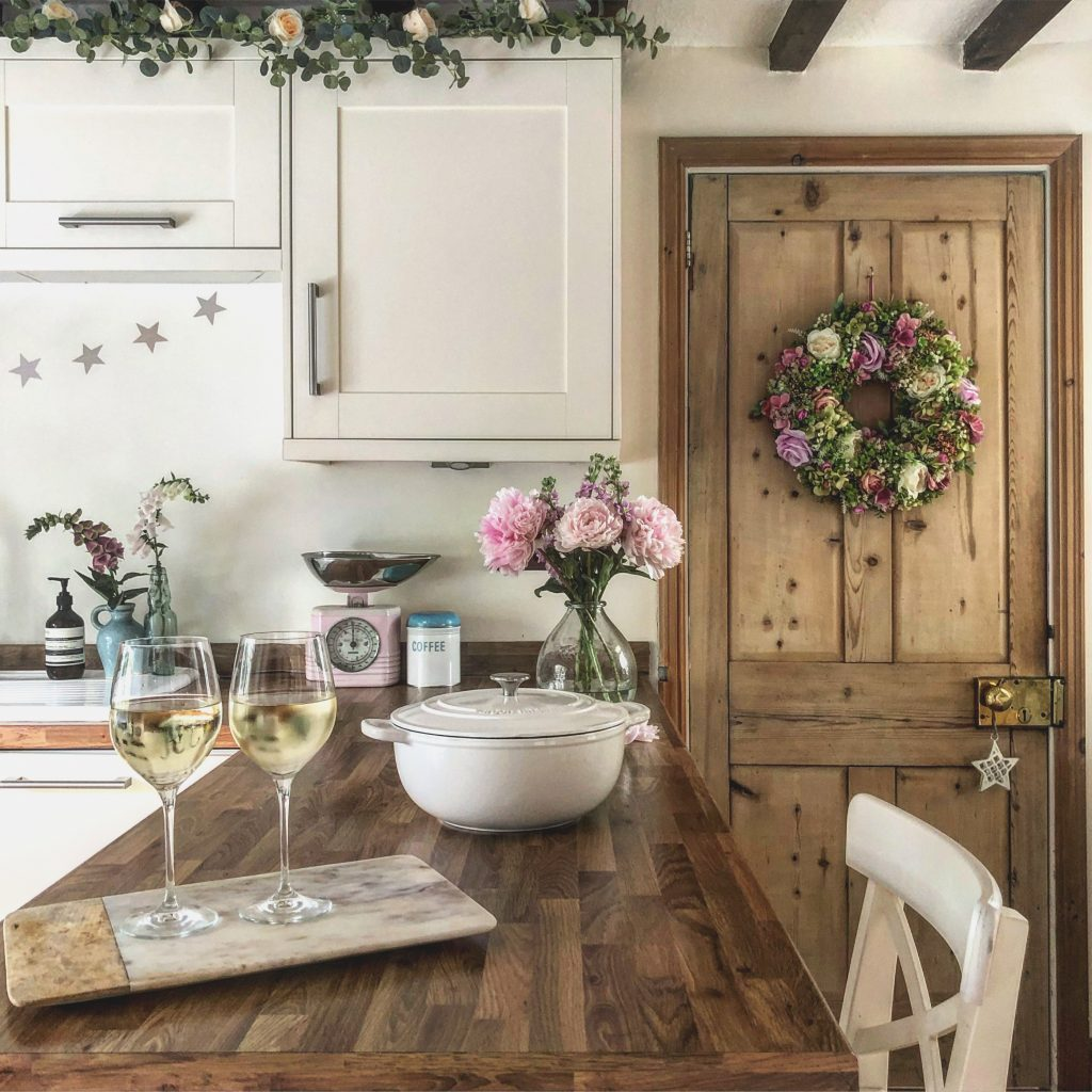 Clare's Gorgeous Country Cottage Kitchen