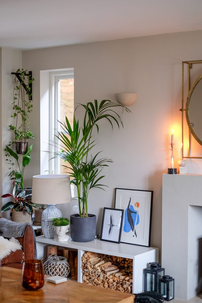 nature-inspired details in Candour and Polish's owner's home