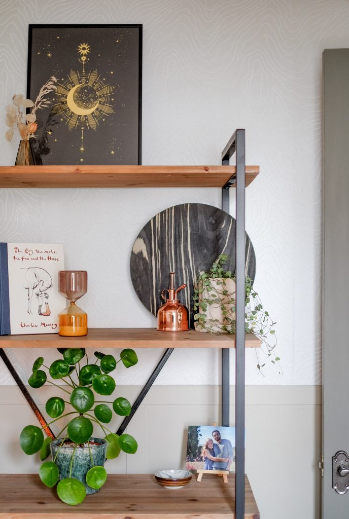 stylish and personal details in Ceri Olofson's (Candour and Polish) office