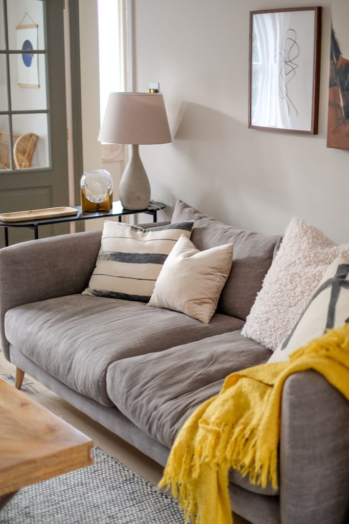 comforts in Ceri Olofson's home