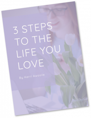 3 Steps To The Life You Love cover artwork by Kerri Awosile