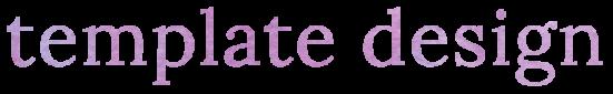 template design title